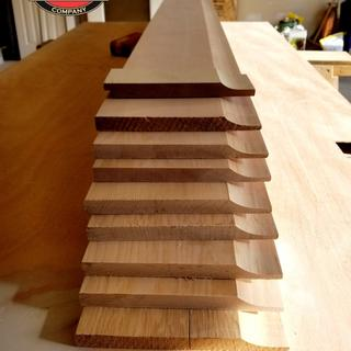 Rockler's contour sanding grips we just want we needed to sand this custom cove moulding. Thanks!