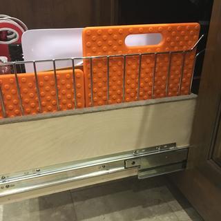 Motohome  kitchen drawer