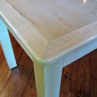 maple wood and tung oil