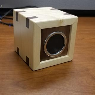 Maple and Walnut Speaker~!