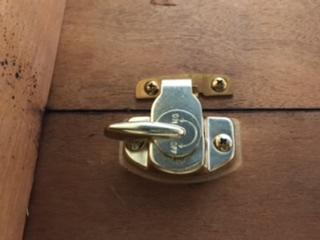 Replacement Brass Table Lock