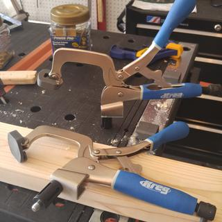 Makes an excellent bench clamp. With Rockler bench dogs which perfectly works with Kreg bench clamp