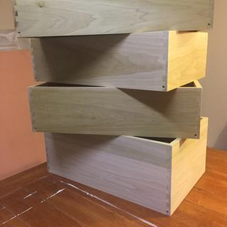 First time making drawers