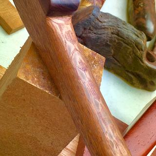 Used the lacewood for the base of a pipe
