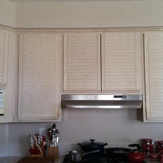My upper kitchen cabinet
