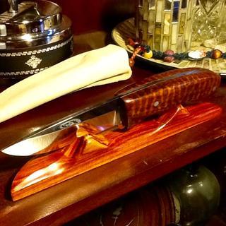 Snakewood handle scales