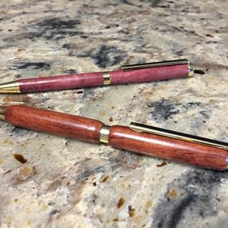 Great kit for a starter like me. First time making pens.
