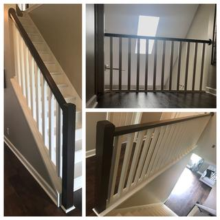 Loved how it came through on this stair railing!My customer was very pleased w/the finished product!