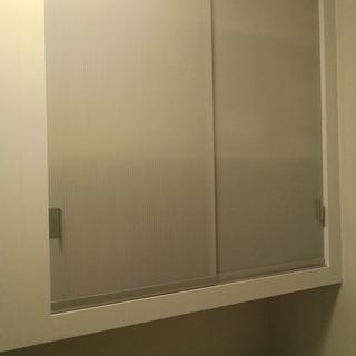 Sliding Doors for a small Laundary Room Cabinet