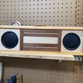 Speaker works great in my shop.