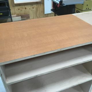 Laminated side section top