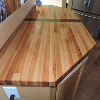 Very easy to use product straight from the can. I used three coats for my butcher block.