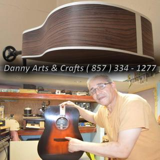 Acoustic guitars  Back and sides  By Danny Baptista  wwwdannyartsandcraftscom