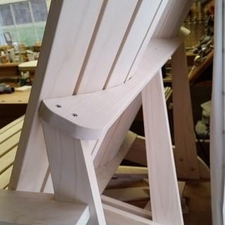 Worked well on adirondack love seat