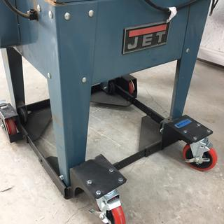 "Rockler All-Terrain Mobile Base used on a 15"" Planer"