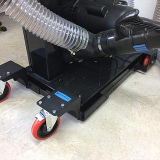 """Rockler All-Terrain Mobile Base used on a 17"""" Bandsaw"""