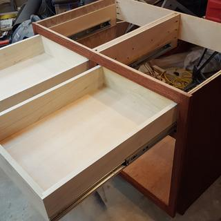 These drawer slides are really nice, very easy to install and work great!