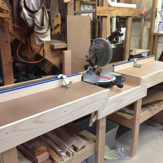 This measuring system is a great addition to my miter saw table. Easy to install and works great.