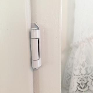 I am very impressed with the quality of these hinges!