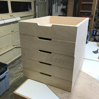 Drawers after banding