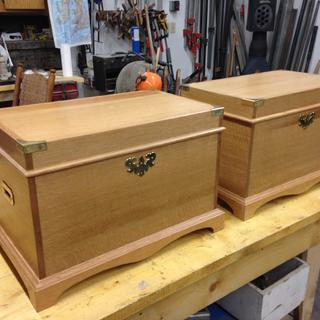 Oak Chests