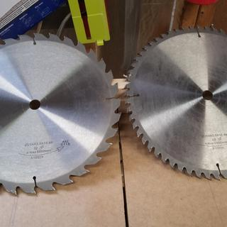 As you can see no pitch and no resin left on the saw blades.