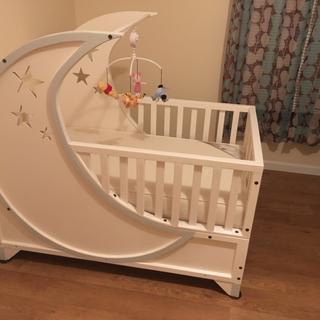 These bolts were a great addition to the convertible baby crib I built!