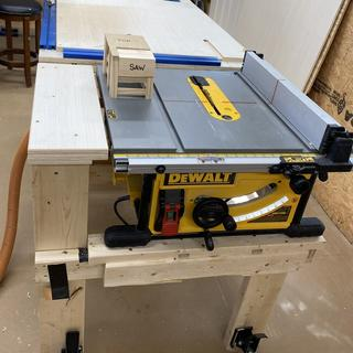 Rockler casters (and plates) worked great on my combination workbench & outfeed table.