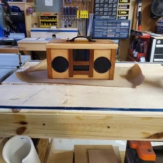 Bluetooth speaker for the workshop the sounds great!