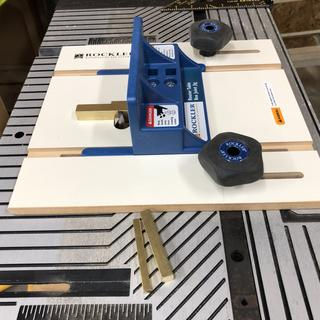 Modified an old table saw miter sled bar