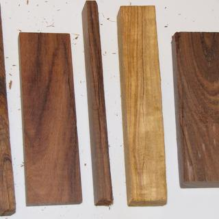 wood from 5 lb box of cut offs