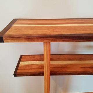 This console is made by using Dowel Pro Jig.