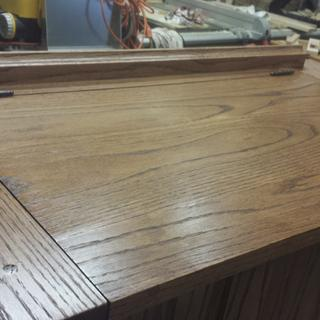 Top of bench, plan is from woodsmith