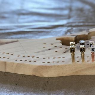 Nantucket cribbage board