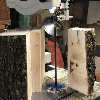 Safer when cutting uneven wood