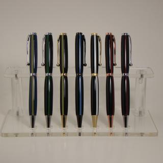 Seven (7) Thin Line Pen Blanks on Slimline Pens