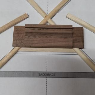 Here's the bridge location as measured per instructions. Note: Way forward of the bridge plate.