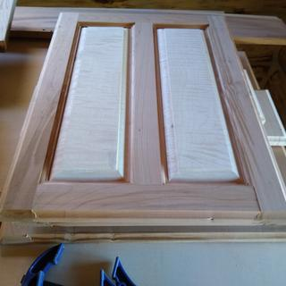 Still need to finish but the router bits made these cabinet doors a cinch.