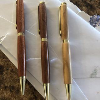 Enjoyed making my first pens