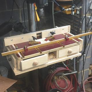 Perfect addition to slightly modified Stubynubs X-Y drill press table