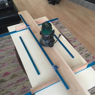 """Miter tracks and 24"""" miter bars for front to back travel"""