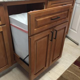Sturdy Enough To Soft Close This Custom Door Front And Garbage Cans Great  Product