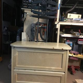 Cabinet sealed