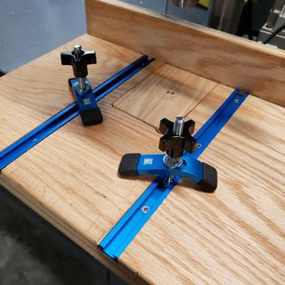 shown with 45692MINI HOLD DOWN CLAMP