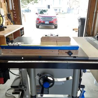 Crosscut Sled Back