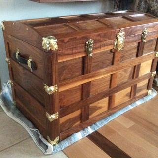 modified steamer trunk