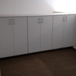 Loft cabinets.