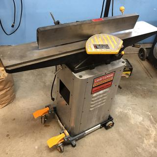 Heavy jointer rolls easy now