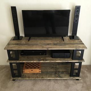 The beginning of my TV stand