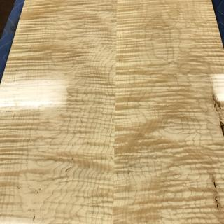 Great with Seal a cell on curly maple